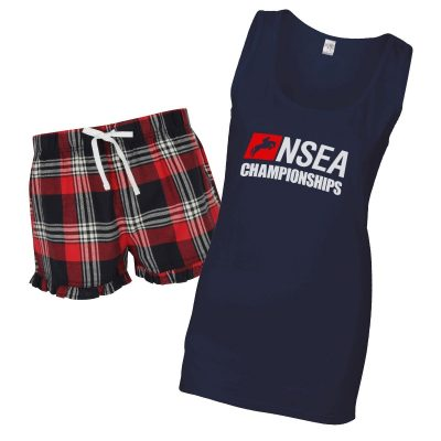 NSEA Ladies PJ Shorts Set